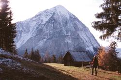Foto: Kurt Schall / Wander Tour / Pürgg – Gindlhorn: Der große Schatten des Grimming / 09.01.2010 17:34:05