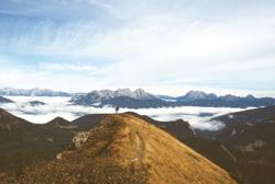 Foto: Kurt Schall / Wandertour / Bruderkogel - Massiger Aussichtsberg über der Pölsen / 09.01.2010 17:50:53