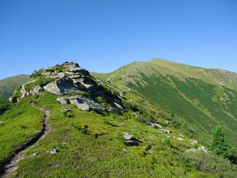 Foto: Günter Siegl / Wandertour / Bruderkogel - Massiger Aussichtsberg über der Pölsen / 04.08.2013 14:29:31
