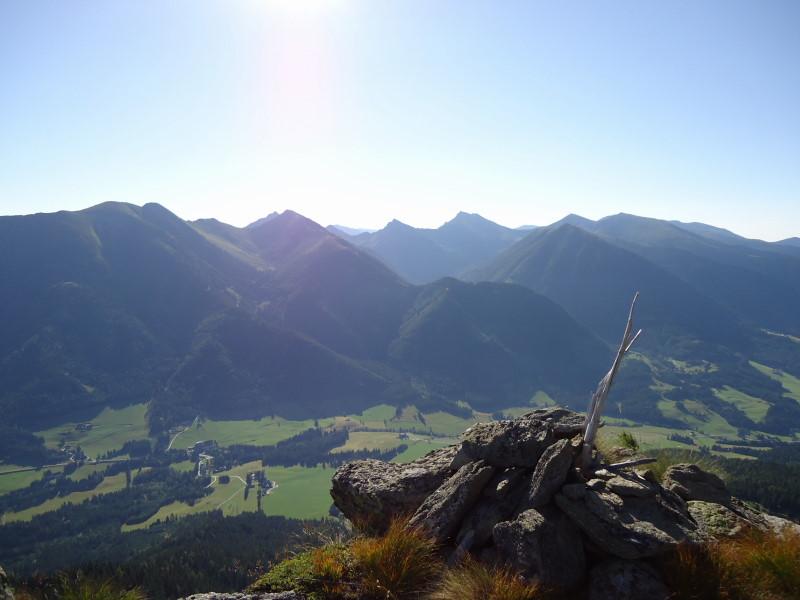 Foto: Günter Siegl / Wandertour / Bruderkogel - Massiger Aussichtsberg über der Pölsen / 04.08.2013 14:29:25