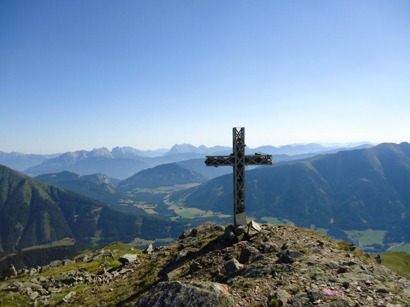 Foto: Günter Siegl / Wandertour / Bruderkogel - Massiger Aussichtsberg über der Pölsen / 04.08.2013 14:28:51