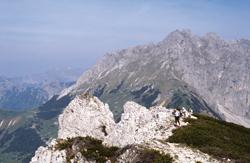 Foto: Kurt Schall / Wander Tour / Leobner Mauer, Hoher Schilling -  Höhenwanderung über der Eisenstraße / 09.01.2010 18:06:57