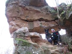 Foto: Kurt Schall / Wander Tour / Gleichenbergerkogel - Unverkennbarer Doppelkegel im Vulkanland  / 09.01.2010 18:32:30
