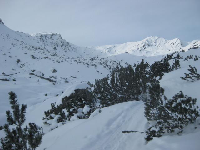 Foto: Wolfgang Lauschensky / Ski Tour / Gressenstein 2216m / Gressenstein oberhalb seiner gleichnamigen Alm / 10.01.2010 12:24:33