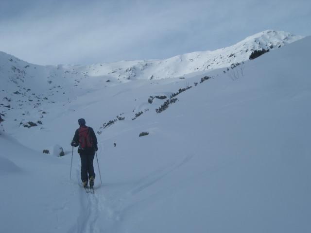 Foto: Wolfgang Lauschensky / Ski Tour / Gressenstein 2216m / im Hochtal zum Gressenstein / 10.01.2010 12:24:21