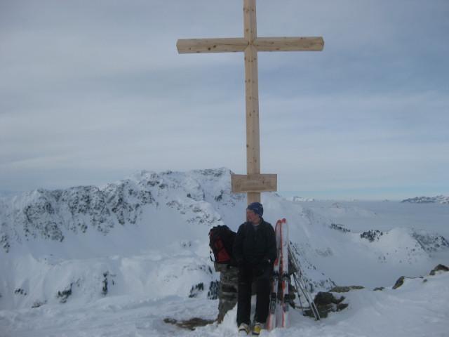 Foto: Wolfgang Lauschensky / Ski Tour / Gressenstein 2216m / Gressensteingipfel vor Galtenberg / 10.01.2010 12:23:26