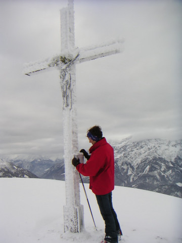 Foto: Wolfgang Lauschensky / Ski Tour / Fellhorn 1764m (von Seegatterl aus) / Fellhorngipfel / 10.01.2010 18:40:42