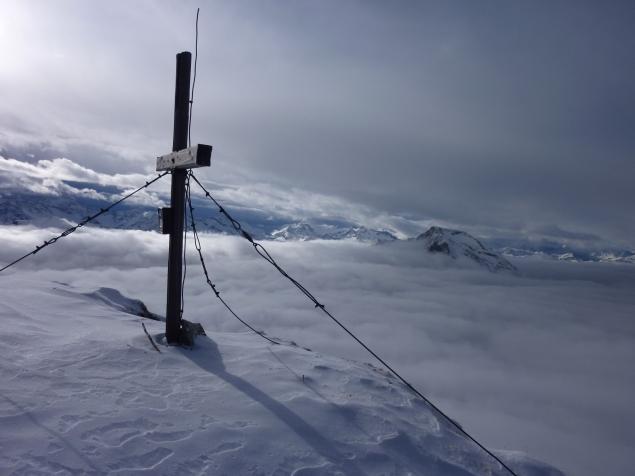 Foto: Manfred Karl / Ski Tour / Zwillingswand, 2518 m / An einem 31. Dezember / 22.01.2013 20:31:26