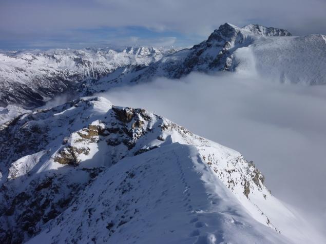 Foto: Manfred Karl / Ski Tour / Zwillingswand, 2518 m / 22.01.2013 20:31:06