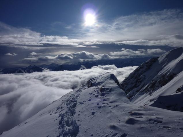 Foto: Manfred Karl / Ski Tour / Zwillingswand, 2518 m / 22.01.2013 20:27:57