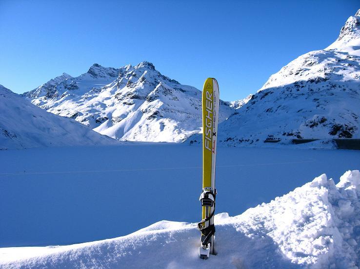Foto: Andreas Koller / Skitour / Durch das Bieltal auf den Rauen Kopf (3101 m) / Ausgangspunkt. Bielerhöhe / 26.01.2010 00:30:39