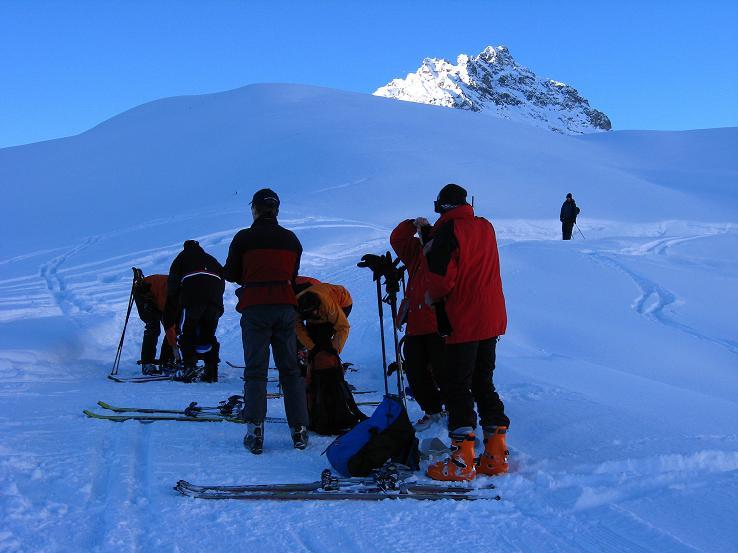 Foto: Andreas Koller / Skitour / Durch das Bieltal auf den Rauen Kopf (3101 m) / Allgemeiner Fell-Anlege-Platz / 26.01.2010 00:30:07