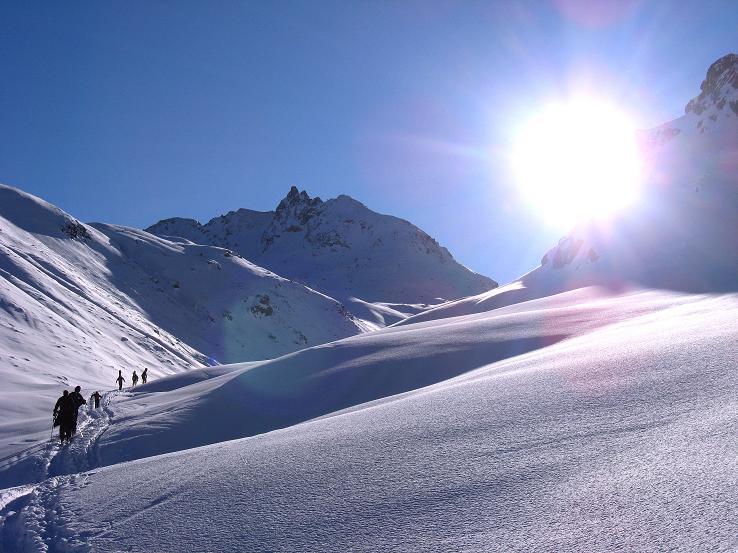 Foto: Andreas Koller / Skitour / Durch das Bieltal auf den Rauen Kopf (3101 m) / 26.01.2010 00:29:06