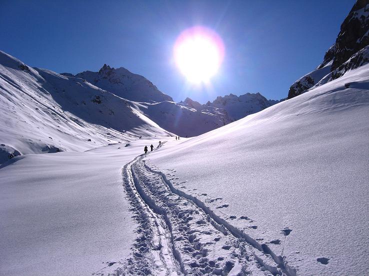 Foto: Andreas Koller / Skitour / Durch das Bieltal auf den Rauen Kopf (3101 m) / 26.01.2010 00:28:43