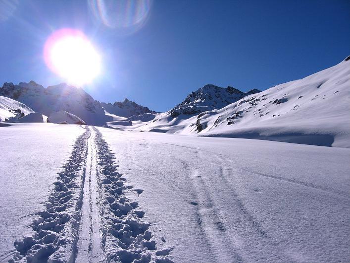 Foto: Andreas Koller / Skitour / Durch das Bieltal auf den Rauen Kopf (3101 m) / 26.01.2010 00:28:17