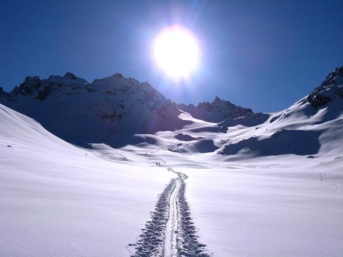 Foto: Andreas Koller / Skitour / Durch das Bieltal auf den Rauen Kopf (3101 m) / 26.01.2010 00:27:46