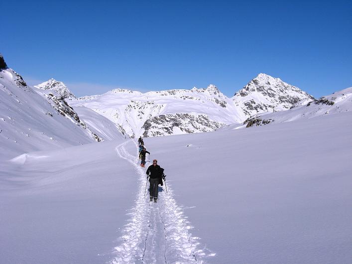 Foto: Andreas Koller / Skitour / Durch das Bieltal auf den Rauen Kopf (3101 m) / 26.01.2010 00:27:24