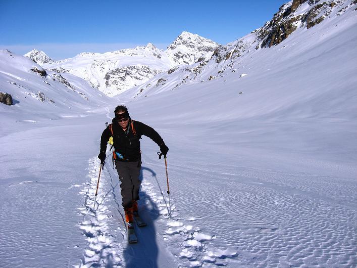 Foto: Andreas Koller / Skitour / Durch das Bieltal auf den Rauen Kopf (3101 m) / 26.01.2010 00:27:06