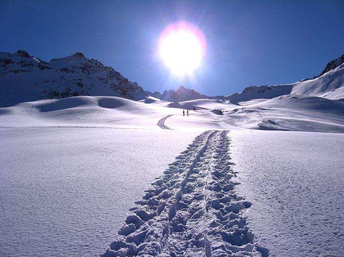 Foto: Andreas Koller / Skitour / Durch das Bieltal auf den Rauen Kopf (3101 m) / 26.01.2010 00:26:54