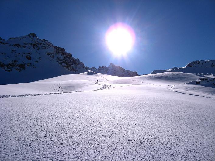 Foto: Andreas Koller / Skitour / Durch das Bieltal auf den Rauen Kopf (3101 m) / 26.01.2010 00:26:16