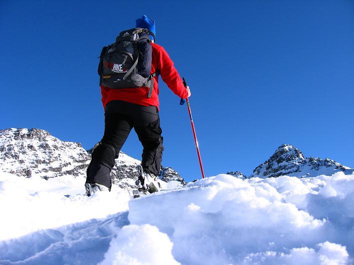 Foto: Andreas Koller / Skitour / Durch das Bieltal auf den Rauen Kopf (3101 m) / 26.01.2010 00:26:07