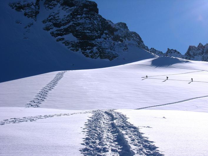 Foto: Andreas Koller / Skitour / Durch das Bieltal auf den Rauen Kopf (3101 m) / 26.01.2010 00:25:56