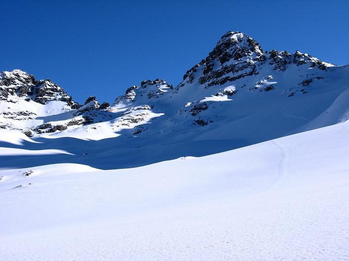 Foto: Andreas Koller / Skitour / Durch das Bieltal auf den Rauen Kopf (3101 m) / 26.01.2010 00:25:28