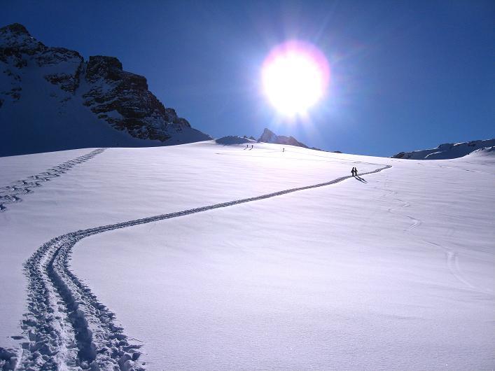Foto: Andreas Koller / Skitour / Durch das Bieltal auf den Rauen Kopf (3101 m) / 26.01.2010 00:25:11