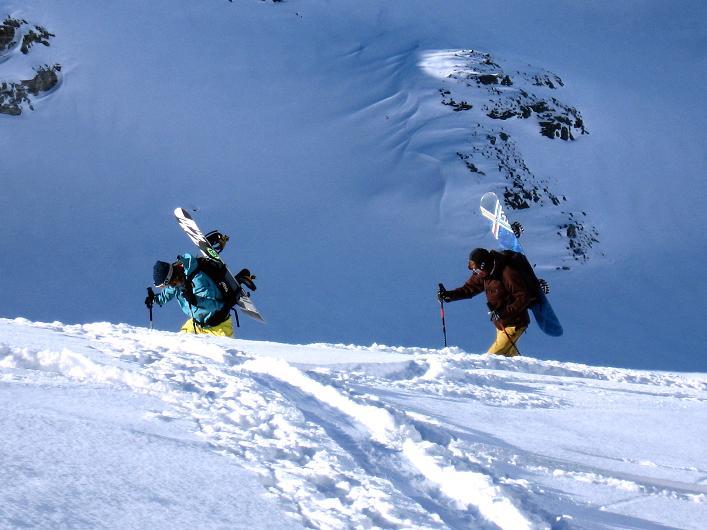 Foto: Andreas Koller / Skitour / Durch das Bieltal auf den Rauen Kopf (3101 m) / 26.01.2010 00:22:48