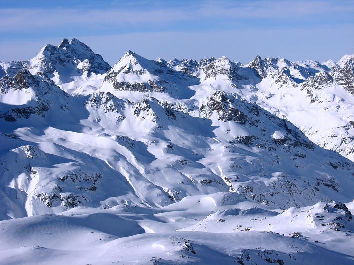 Foto: Andreas Koller / Skitour / Durch das Bieltal auf den Rauen Kopf (3101 m) / 26.01.2010 00:22:15