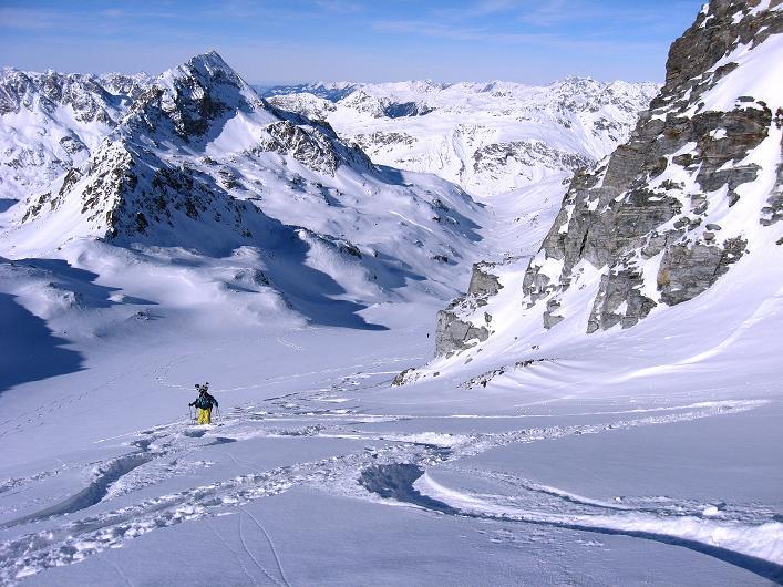 Foto: Andreas Koller / Skitour / Durch das Bieltal auf den Rauen Kopf (3101 m) / 26.01.2010 00:22:06