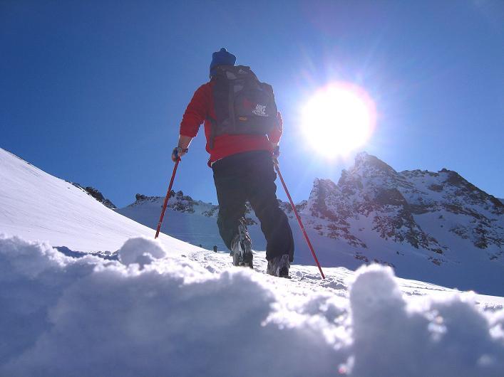 Foto: Andreas Koller / Skitour / Durch das Bieltal auf den Rauen Kopf (3101 m) / 26.01.2010 00:21:24