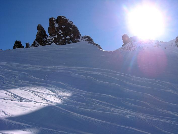 Foto: Andreas Koller / Skitour / Durch das Bieltal auf den Rauen Kopf (3101 m) / 26.01.2010 00:21:05