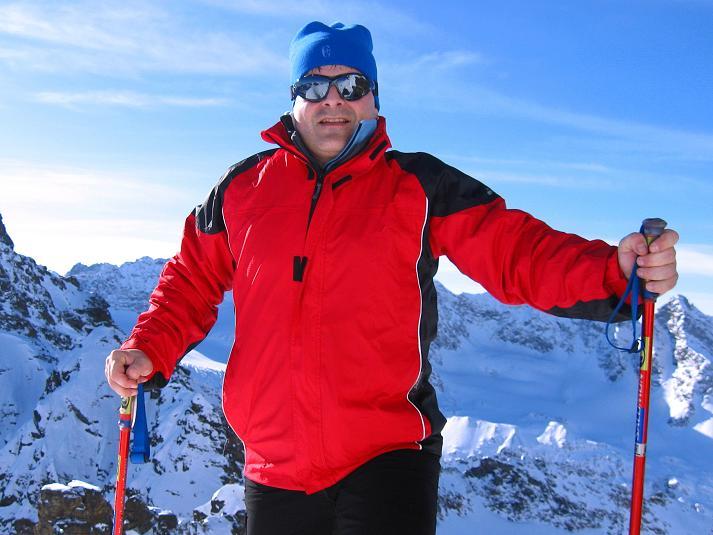 Foto: Andreas Koller / Skitour / Durch das Bieltal auf den Rauen Kopf (3101 m) / Am Rauen Kopf / 26.01.2010 00:19:41