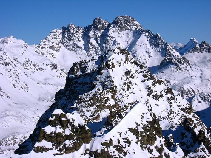 Foto: Andreas Koller / Skitour / Durch das Bieltal auf den Rauen Kopf (3101 m) / Fluchthorn (3399 m) / 26.01.2010 00:18:51