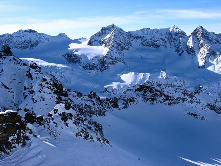 Foto: Andreas Koller / Skitour / Durch das Bieltal auf den Rauen Kopf (3101 m) / 26.01.2010 00:18:30