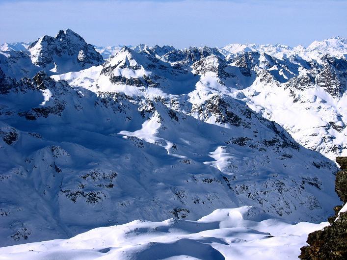 Foto: Andreas Koller / Skitour / Durch das Bieltal auf den Rauen Kopf (3101 m) / 26.01.2010 00:18:22