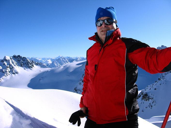 Foto: Andreas Koller / Skitour / Durch das Bieltal auf den Rauen Kopf (3101 m) / 26.01.2010 00:18:14