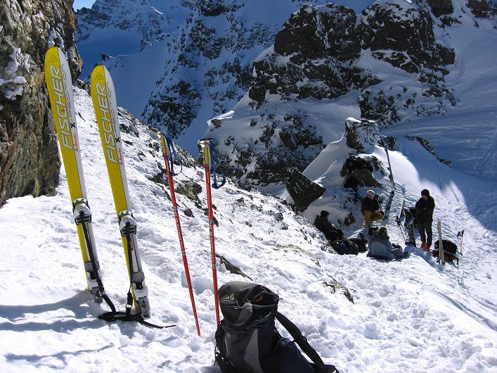Foto: Andreas Koller / Skitour / Durch das Bieltal auf den Rauen Kopf (3101 m) / 26.01.2010 00:14:42