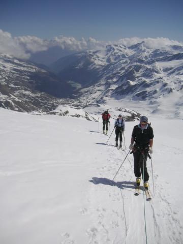 Foto: Wolfgang Lauschensky / Skitour / Zufallspitze – Monte Cevedale : Überschreitung / Gletscherweiten / 29.01.2010 18:05:22