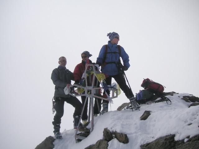 Foto: Wolfgang Lauschensky / Skitour / Zufallspitze – Monte Cevedale : Überschreitung / Zufallspitze / 29.01.2010 18:04:02