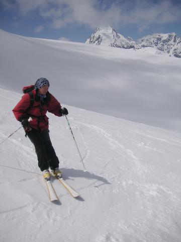 Foto: Wolfgang Lauschensky / Skitour / Zufallspitze – Monte Cevedale : Überschreitung / Königspitze / 29.01.2010 18:03:04
