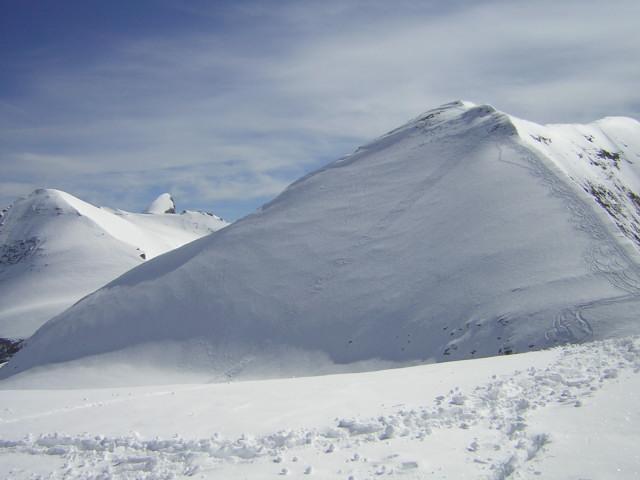 Foto: Wolfgang Lauschensky / Skitour / Mittlerer und Großer Bärenkopf (3358m+3396m) / Firngrat / 07.05.2010 15:51:52