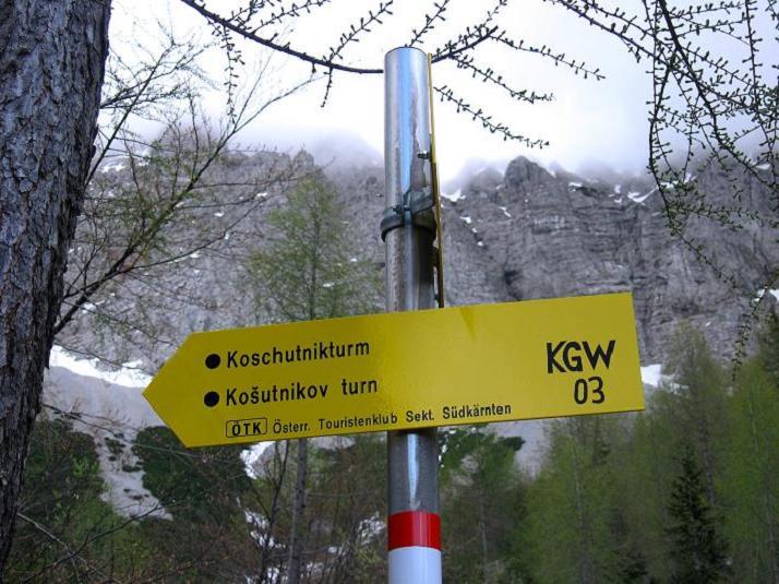 Foto: Andreas Koller / Klettersteigtour / ÖTK-Klettersteig Koschutnikturm neu und alt (2136 m) / 16.05.2010 00:40:04