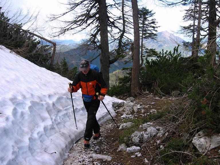 Foto: Andreas Koller / Klettersteigtour / ÖTK-Klettersteig Koschutnikturm neu und alt (2136 m) / 16.05.2010 00:37:38