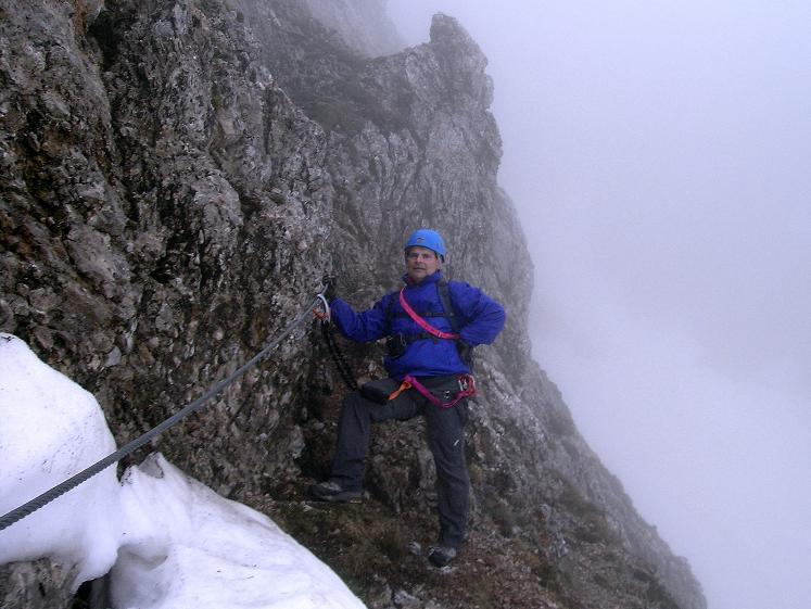 Foto: Andreas Koller / Klettersteigtour / ÖTK-Klettersteig Koschutnikturm neu und alt (2136 m) / 16.05.2010 00:36:01