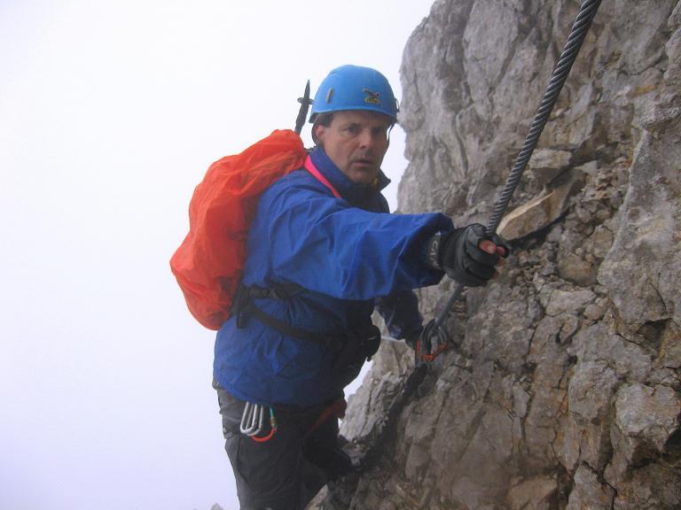 Foto: Andreas Koller / Klettersteigtour / ÖTK-Klettersteig Koschutnikturm neu und alt (2136 m) / 16.05.2010 00:35:19