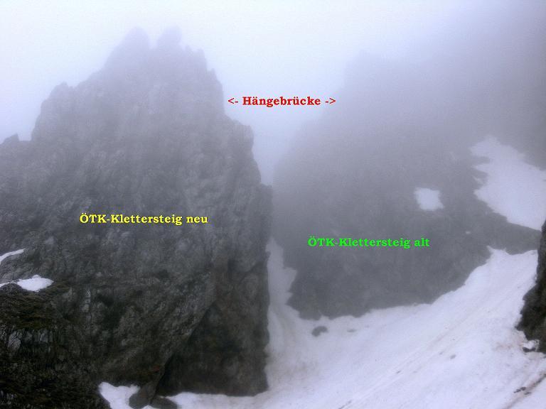 Foto: Andreas Koller / Klettersteigtour / ÖTK-Klettersteig Koschutnikturm neu und alt (2136 m) / 16.05.2010 00:33:54
