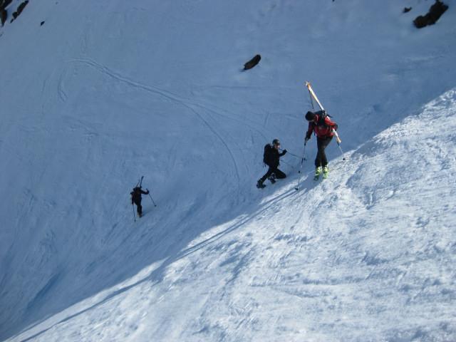 Foto: Wolfgang Lauschensky / Skitour / Östliche Veneziaspitze (3356m) - oder III. Veneziaspitze / Harscheisen oder Steigeisen am letzten Steilhang / 27.05.2010 15:55:45