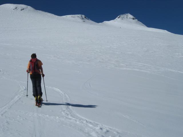 Foto: Wolfgang Lauschensky / Skitour / Östliche Veneziaspitze (3356m) - oder III. Veneziaspitze / oberer Schranferner und Veneziaspitze / 27.05.2010 15:54:22